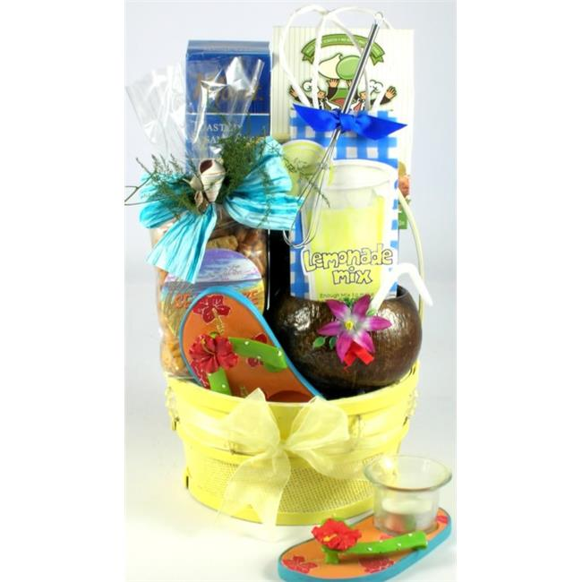 Gift Basket Village TrTr Tropical Treats  Tropical Gift Basket