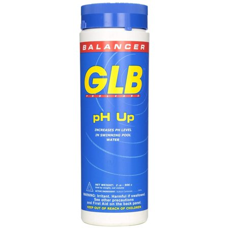 Swimming Pool Water Level Control (GLB Pool and Spa Products 71244 2-Pound pH Up Pool Water Balancer, Sanitizer lowers ph level in swimming pool water By GLB Pool Spa Products )