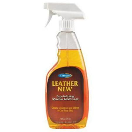 2PK Leather New 16 OZ Easy Polishing Liquid Glycerine Saddle Soap ()