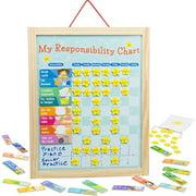 Imagination Generation My Responsibility Chart | Magnetic Dry Erase Chore Chart