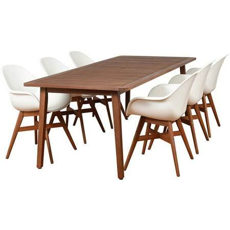 International Home Amazonia Charlotte Deluxe 7 Piece Patio Dining Set ()