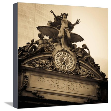 USA, New York City, Manhattan, Midtown, Grand Central Station Stretched Canvas Print Wall Art By Alan - Midtown Party City