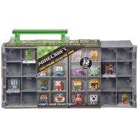 Minecraft Mini Figure Collector Case Portable Storage Mattel
