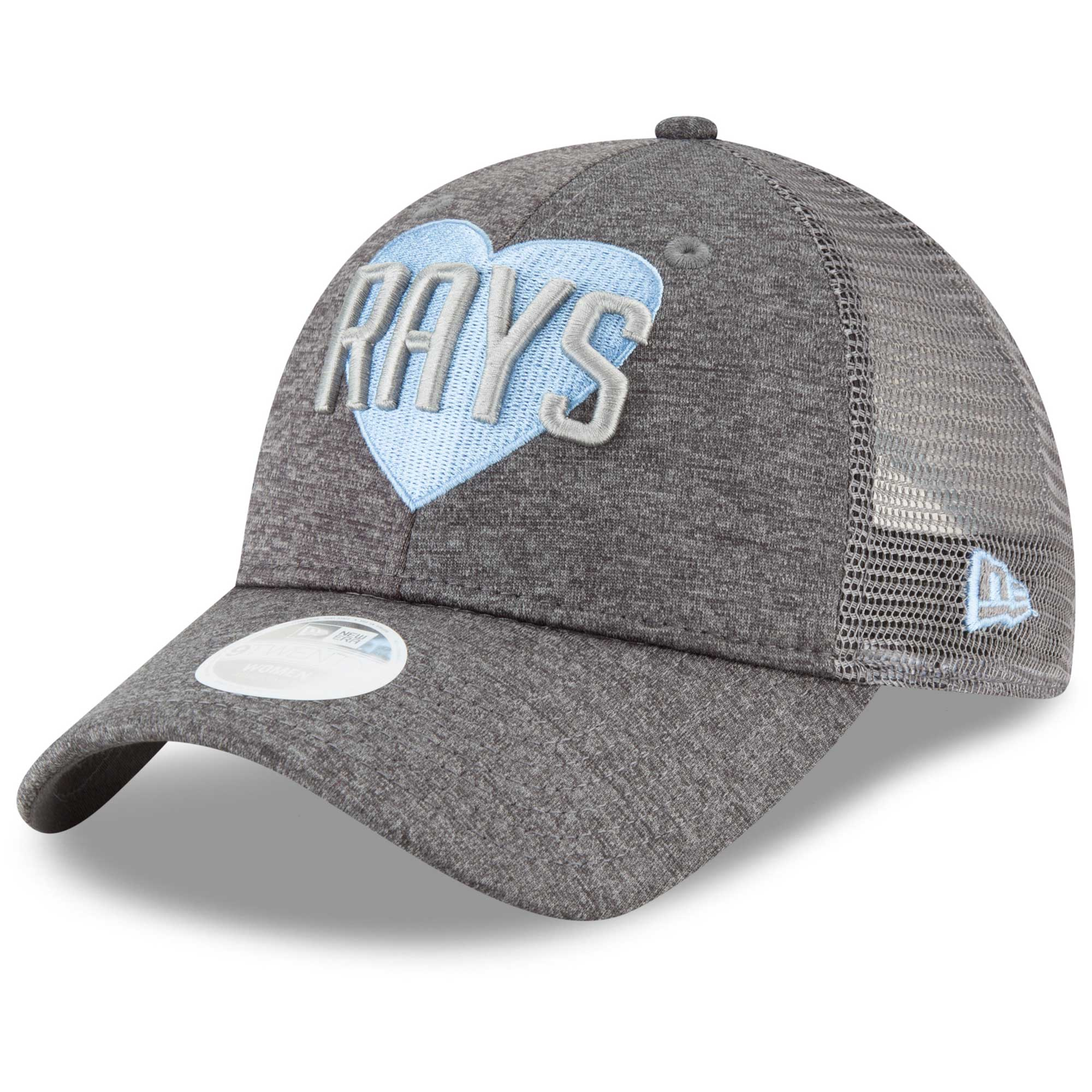 Tampa Bay Rays New Era Women s Snapped Love 9TWENTY Adjustable Hat ... 903ce73db