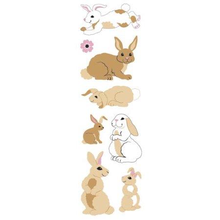 Sandylion Bunnies Slim Stickers - image 1 de 1