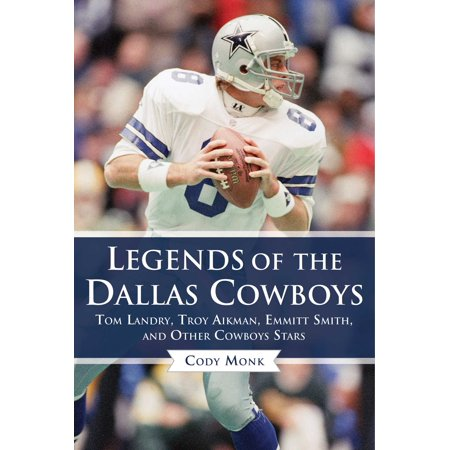 Emmitt Smith Hand Signed - Legends of the Dallas Cowboys : Tom Landry, Troy Aikman, Emmitt Smith, and Other Cowboys Stars