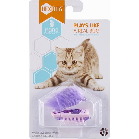 Hex Bugs Nano (HEXBUG Nano Robotic Cat Toy, Pink and)