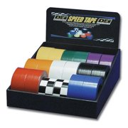 DEI 060100 18 Rolls Speed Tape Point of Purchase Display, Multi Color