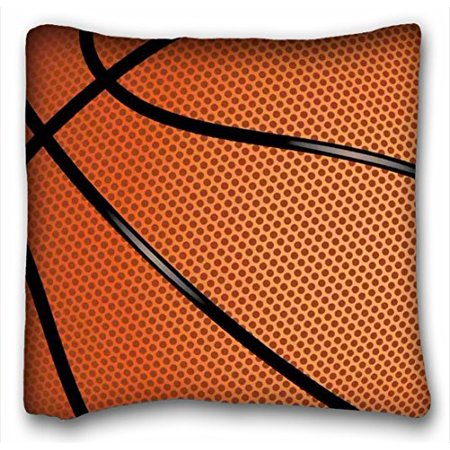 WinHome Basketball Sports Themed Pillow Case Size 20x20 inches Two Side Print