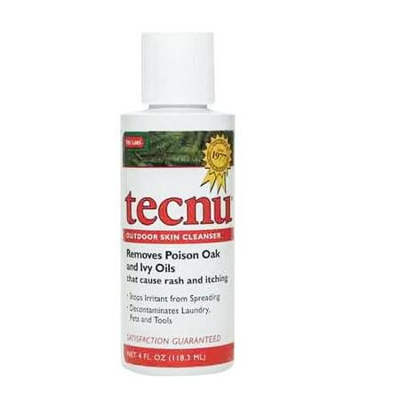Tecnu Original Poison Oak & Ivy Outdoor Skin Cleanser, 4 Ounce Flip Top Bottle -