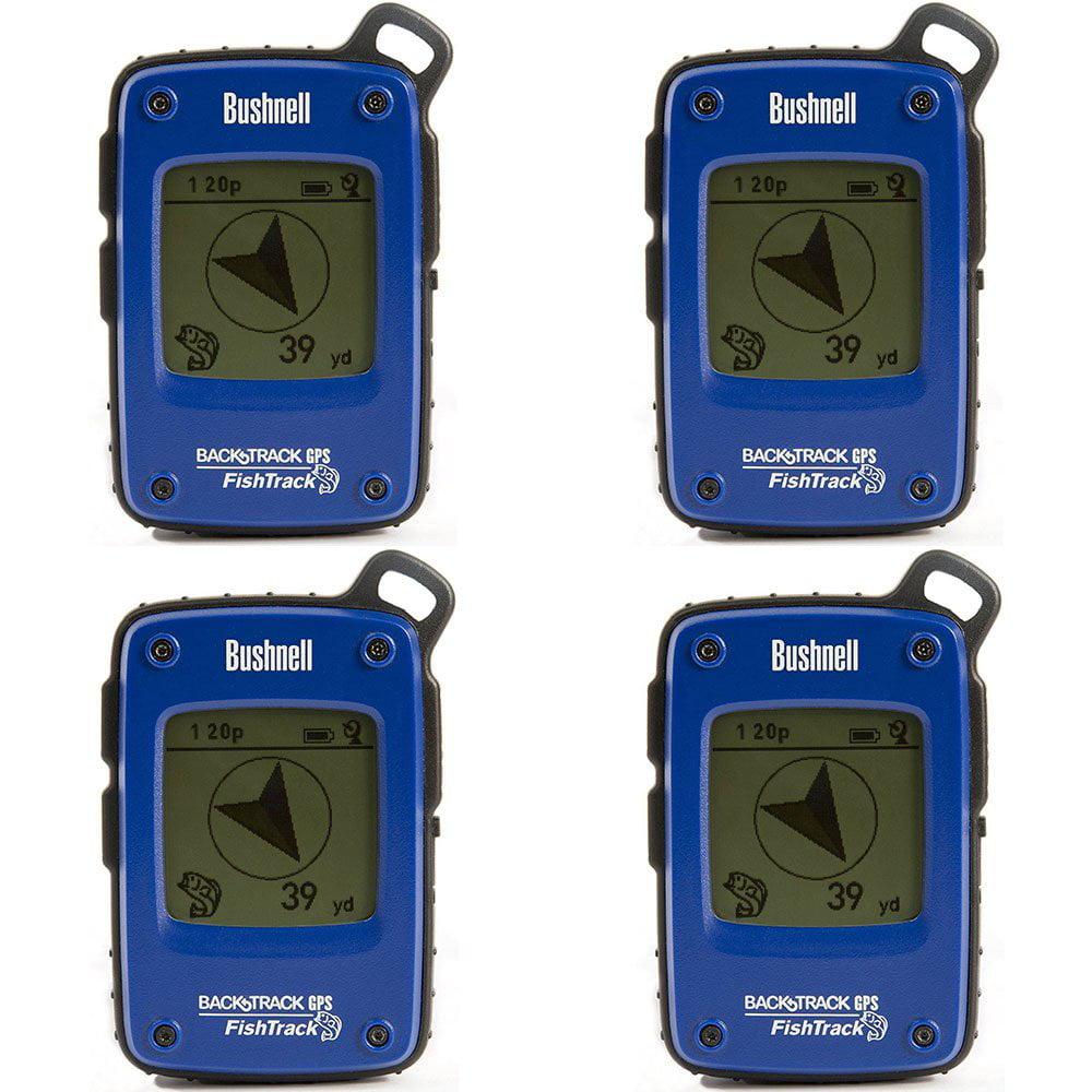 Bushnell BackTrack Fishtrack GPS Weather Resistant Fish Finder Compass (4 Pack)