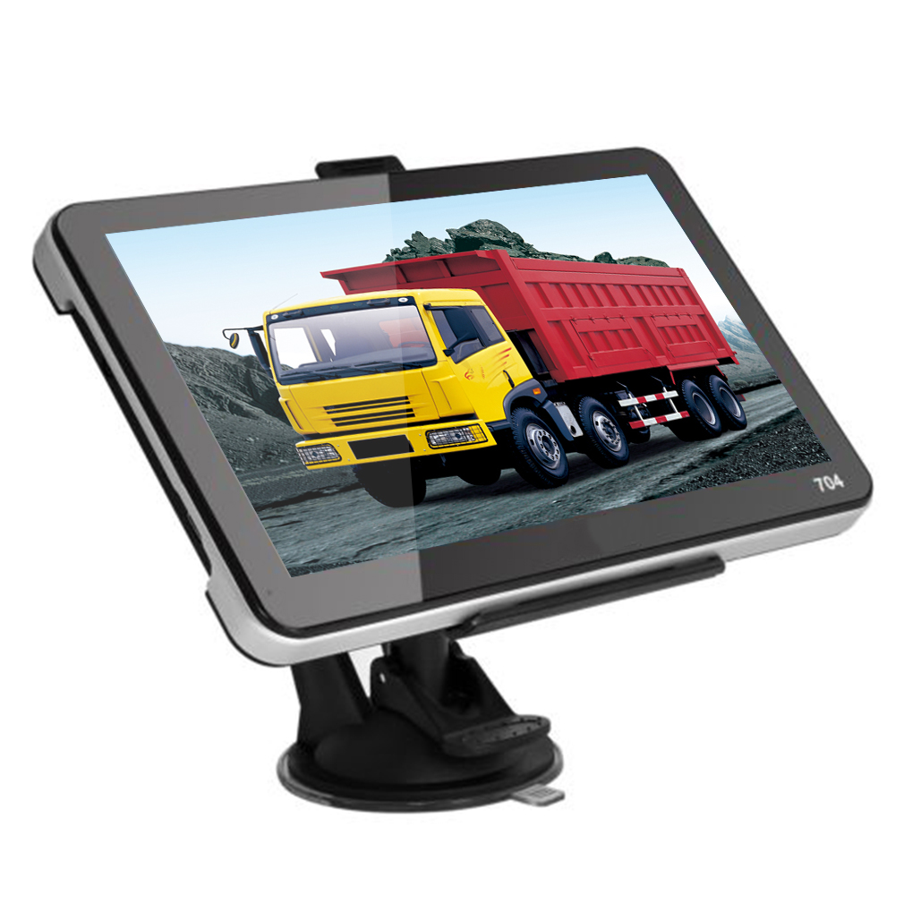 """7"""" Car Truck GPS Navigation System with Wireless Rearview Camera Bluetooth 4GB US"""
