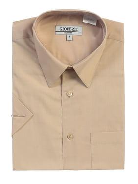 8aca2c2b Product Image Men's Short Sleeve Solid Dress Shirt