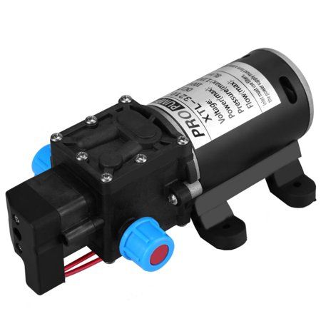 Tbest 12V DC 100W 8L/Min 160Psi High Pressure Diaphragm Self Priming Water Pump for Wash