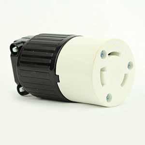 Superior Electric YGA017F Twist Lock Electrical Receptacle 3 Wire, 30 Amps, 250V, NEMA L6-30R (Nema 6 30r Receptacle)