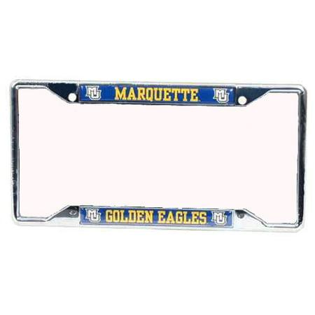 License Plate Insert (Marquette Golden Eagles Metal License Plate Frame w/Domed)
