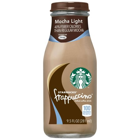 (24 Bottles) Starbucks Frappuccino Coffee Drink, Mocha Light, 9.5 Fl Oz](Halloween Frappuccino Starbucks)