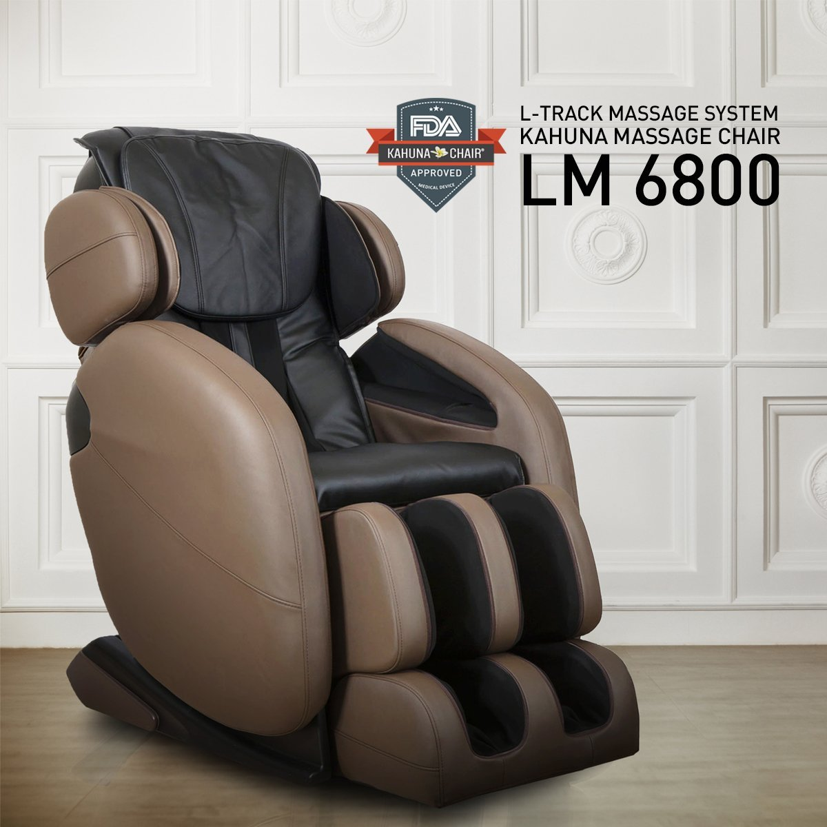 Full Body Zero Gravity Space Saving L Track Kahuna Massage Chair