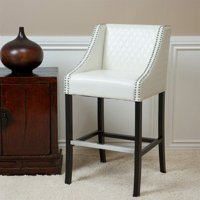 "Noble House 28"" Carlita Bar Stool in Ivory"