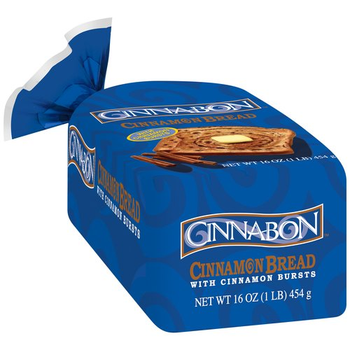 Cinnabon does have a number of other grocery items available. There's Cinnabon International Delight creamer, Cinnabon Toaster Strudel, Cinnabon K-Cups, Cinnabon Cinnamon Bread, and, of course.