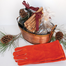 Woodfield Coal Hod Sampler With Gloves