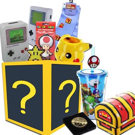 Super Mario And Nintendo Looksee Collectors Box Gold Coin Replica