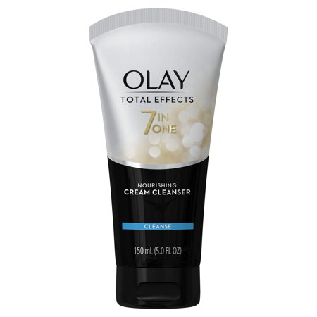 Olay Total Effects Nourishing Cream Cleanser Face Wash, 5.0 fl oz