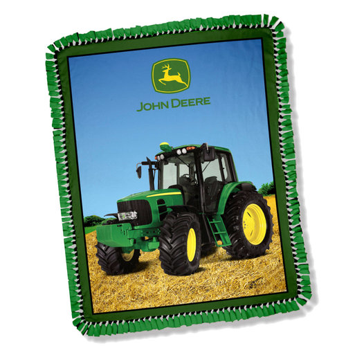 Springs Creative John Deere Scene Throw Kit
