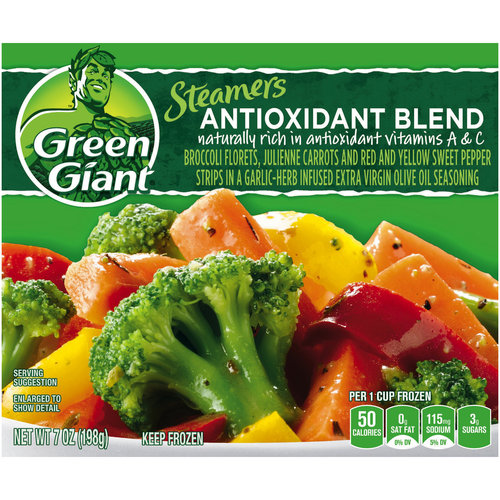 Green Giant Immunity Boost Broccoli Florets, Julienne Carrots And Red And Yellow Sweet Pepper Strips In A Garlic-Herb Infused Extra Virgin Olive Oil Seasoning. Vegetables, 7 oz
