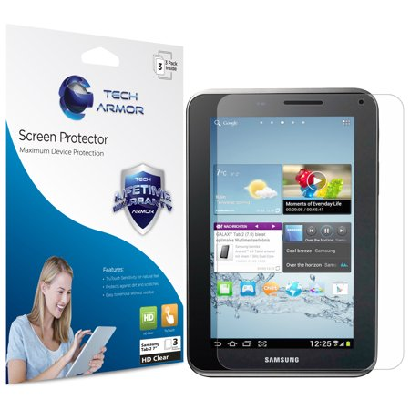 Galaxy Tab 2 Screen Protector, Tech Armor High Definition HD-Clear Samsung Galaxy Tab 2 - 7