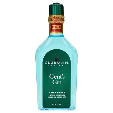 Gents Carbon - Clubman Reserve - Gents Gin After Shave Lotion - 6 oz