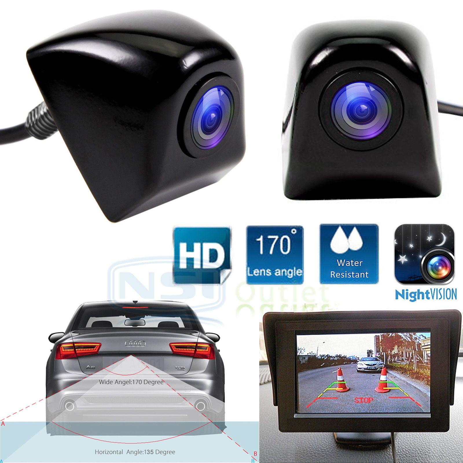 Car Truck Wireless Rear View Backup Camera Kit Cam Set Parking Night Vision CMOS