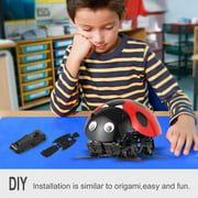 BLUETIMEUS Remote Control Smart Ladybug Insect Robot Toy DIY Robot Kit BlETE