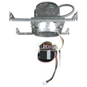 """Elco EE7-EM 6"""" Line Voltage Emergency Downlight with Gimbal Ring Trim"""