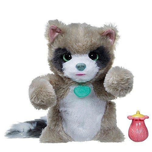 FurReal Friends Woodland Sparkle Rocco My Peek-a-Boo Raccoon Sounds Soft Hasbro B2969 by Hasbro