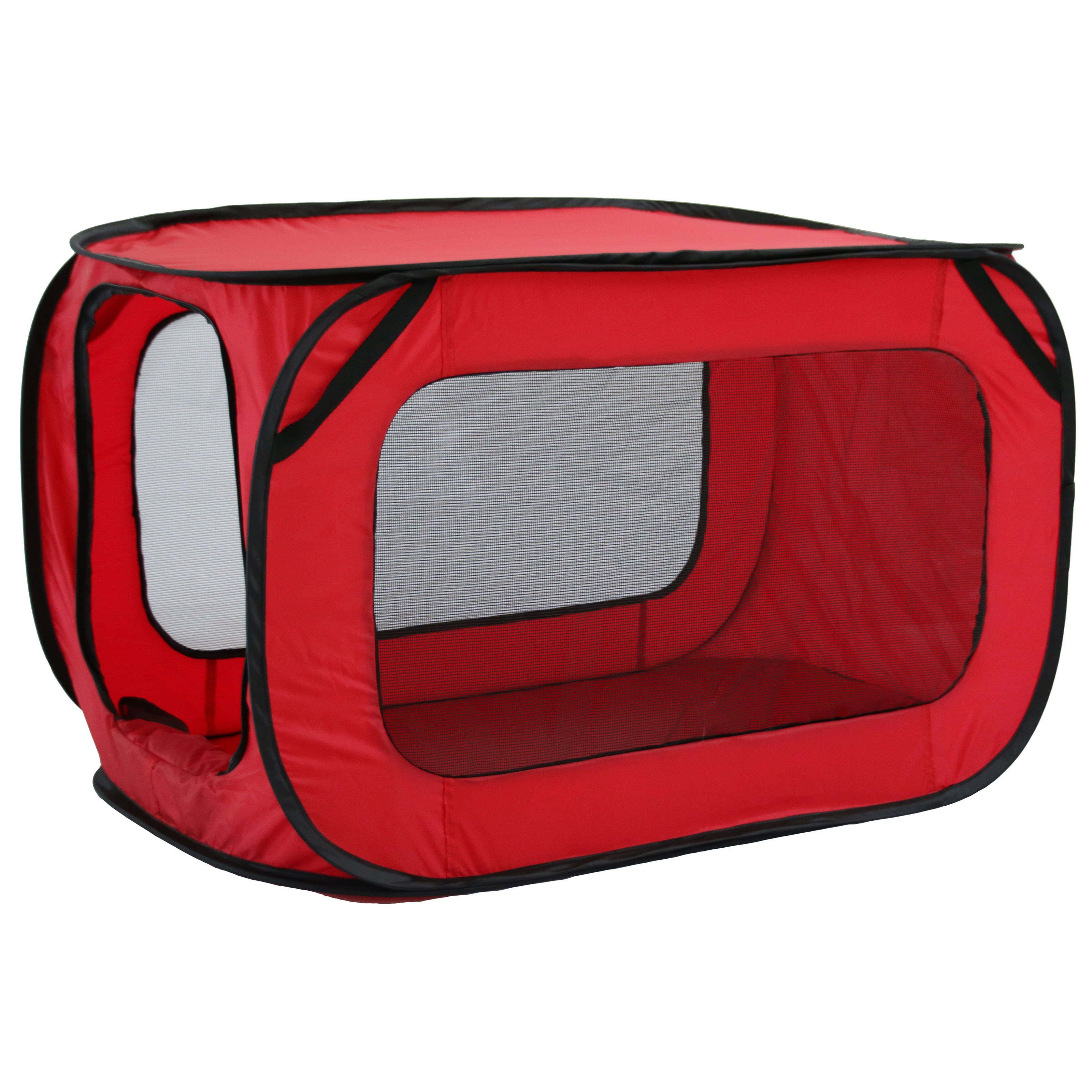 Mesh Canvas Collapsible Outdoor Tent with bottle holder