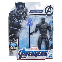 Marvel Avengers Black Panther 6-Inch-Scale Figure, Ages 4 and Up
