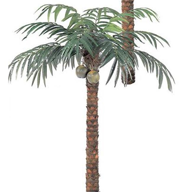 Autograph Foliages P-298 - 9 Foot Coconut Palm Tree - Green