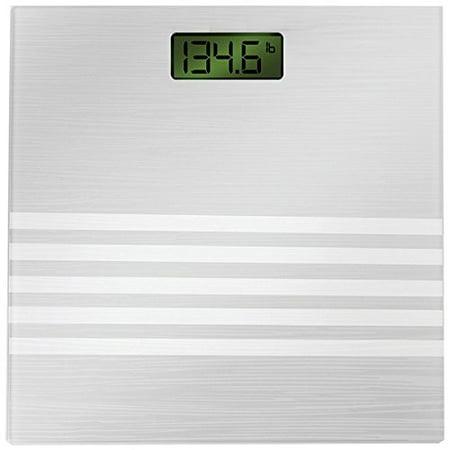 Bally Digital Bathroom Scale, Silver