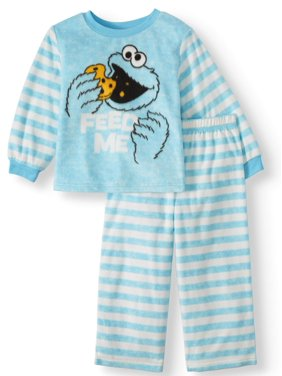 Long Sleeve Top & Pant, 2pc Pajama Set (Toddler Boys)