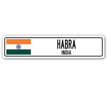 HABRA, INDIA Street Sign Indian flag city country road wall - City Of La Habra Jobs