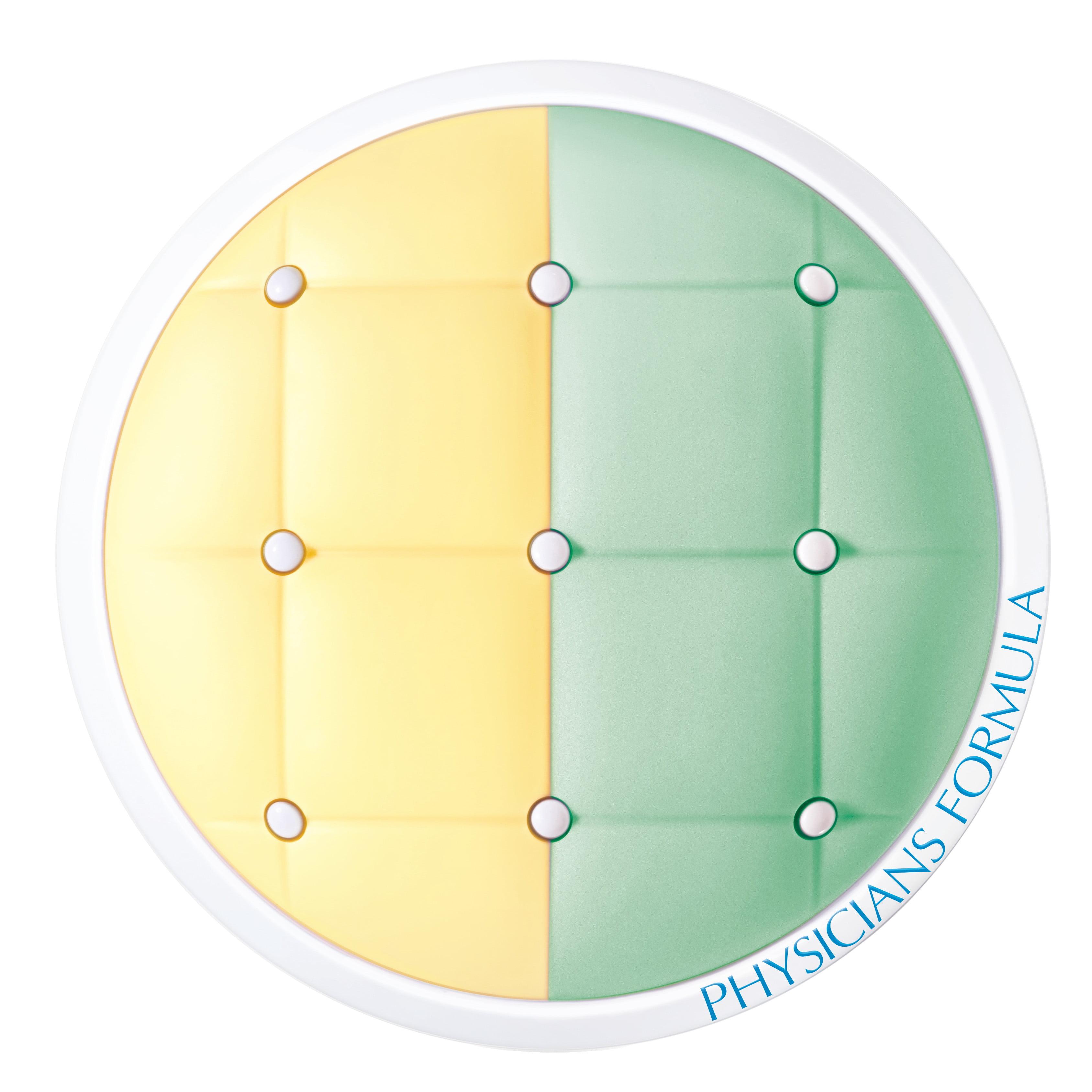 Physicians Formula Mineral Wear Talc-Free Cushion Corrector + Primer Duo SPF 20 - Yellow/