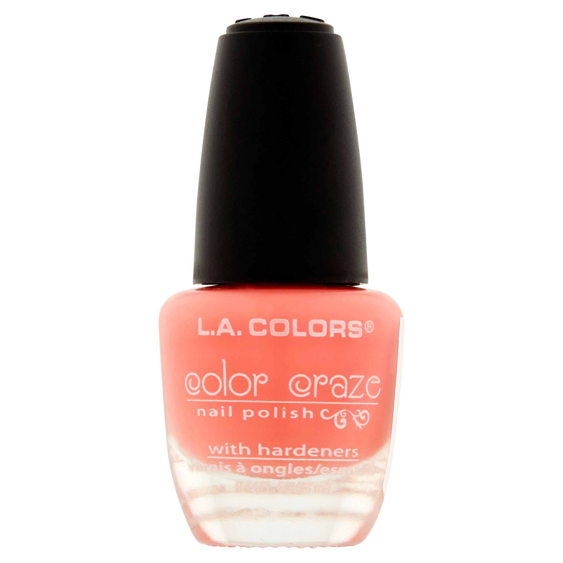 L.A. Colors Color Craze CNP537 Frill Nail Polish, 0.44 fl oz ...