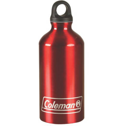 Coleman 16 oz Aluminum Bottle, Red, Aluminum