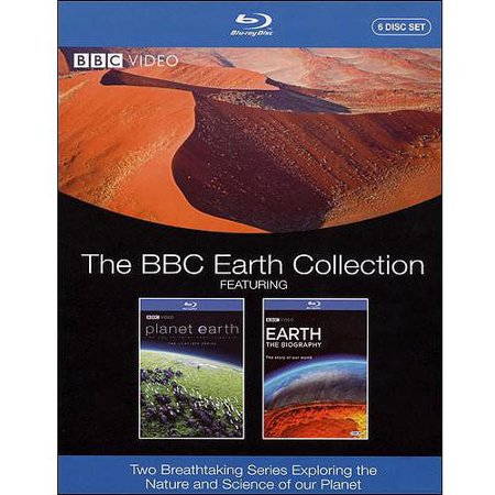 The Bbc Earth Collection  Planet Earth   Earth  The Biography  Blu Ray