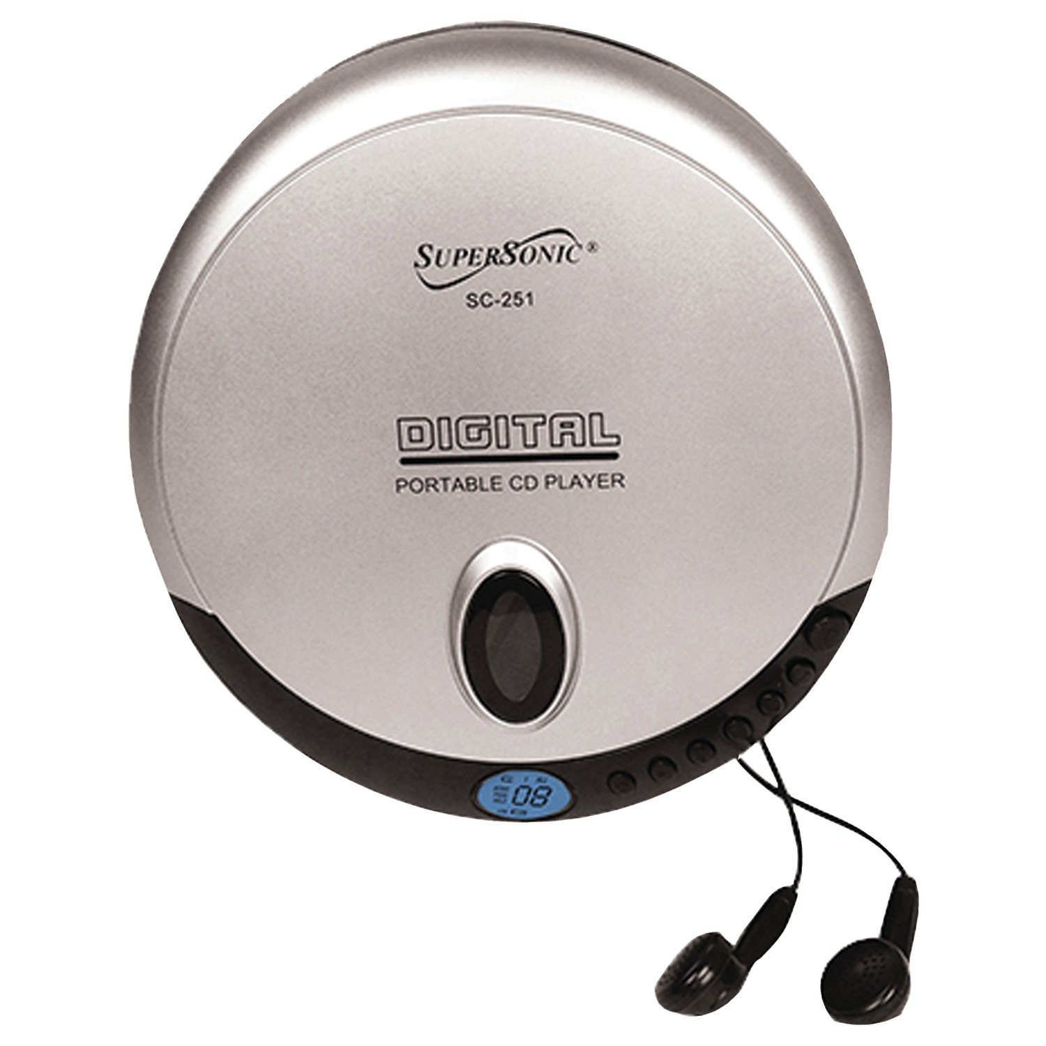 Supersonic SC-251 Personal CD Player by Supersonic