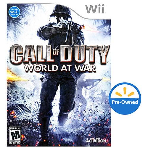 Cokem International Preown Wii Call Of Duty: World At War