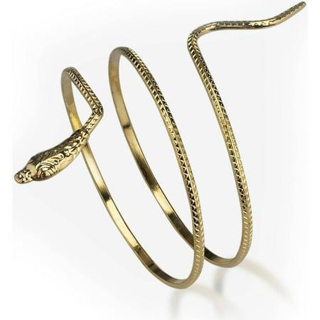 Snake Armband Halloween Accessory, Metal for $<!---->
