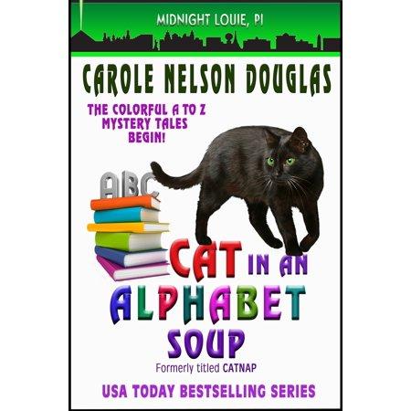 Cat in an Alphabet Soup -