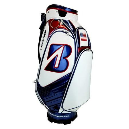 NEW Bridgestone Golf 2018 US Open Mini Tour B Staff Bag Retail $499
